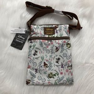 Loungefly Disney Bambi crossbody passport bag